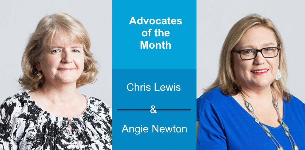 March 2020 Advocates of the Month