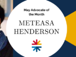 banner image with headshot of meteasa henderson